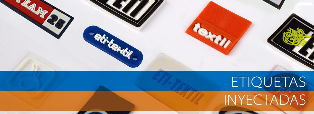 etiquetas sintéticas y de cuero